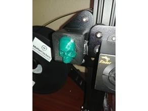 Skull Face QR Cover - Ender 3 Pro