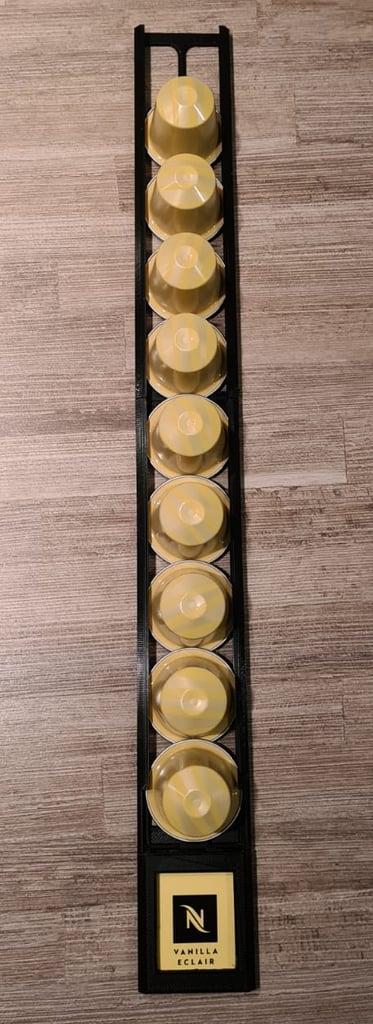 Nespresso rails & label holder