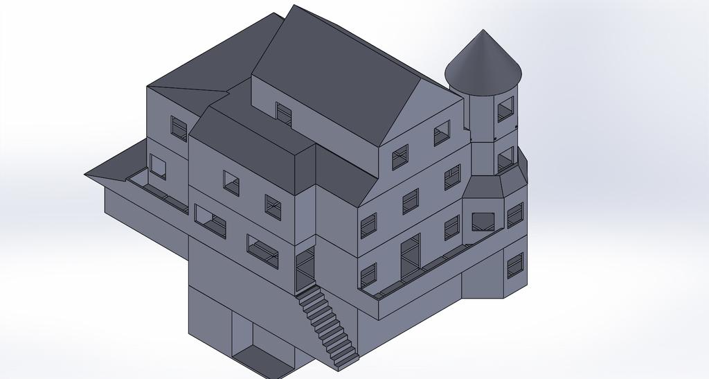 Troll Skull Manor(Playable Building 3rd Floor)