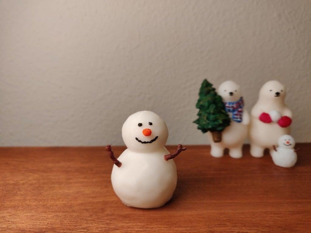 KUMATY : Snowman