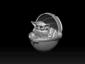Smile Baby Yoda.