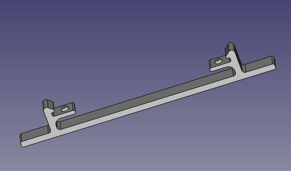Simple feet / wall mount system for Raspberry Pi