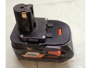 Ridgid Battery to Ryobi Tool Adapter