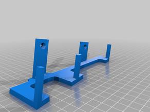 Screwdrivers multi-bits wall holder 1/4Inch 6.35MM