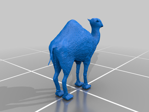 DungeonSticks Camel ready to 3d print for u