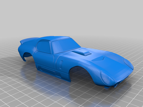 Shelby Daytona Coupe 94mm MiniZ Body