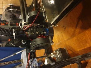 tronxy X3 double fan blower