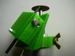 sharpener for small drill bits (ø < 4mm)