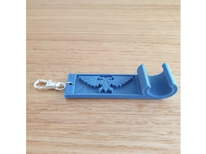 Wahammer keychain phone stand