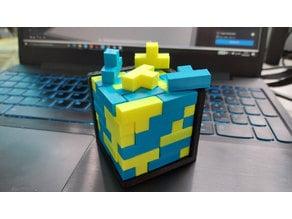 T-block puzzle brain teaser