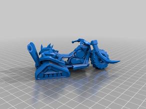 ork snow choppa bikes - ork bits