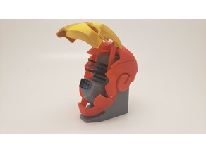 (Updated) Mechanical Iron man SD Card Holder
