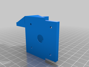 Extruder mount for Creality Machines (improved filament path, supports dual extrusion)