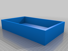 Shoebox with removeable lid