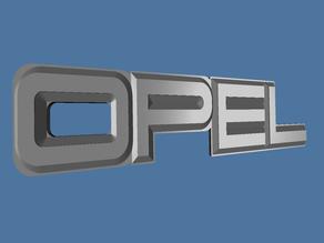Old OPEL logo