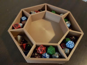 DnD Dicetray and Organizer