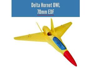 Delta Hornet OWL 70mm EDF from OWLplane - test files