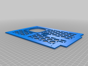 Anycubic Chiron Backplate