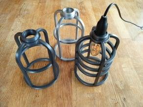 Steampunk E14 lamp
