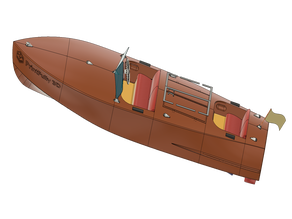 RC Boat LUSIA 1952