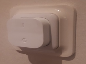 Eljo trend switch cover with holder for IKEA Tradfri on/off switch