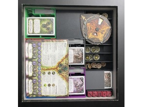 Chaos in the Old World + Horned Rat - Insert / Organizer - Sleeved Cards