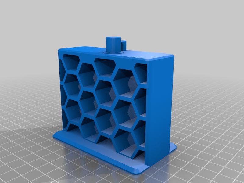 Quick Reload Toilet Paper Holder Big Honeycomb Remix