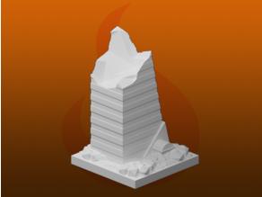 GreebleCity Ruins: Skyscraper VII