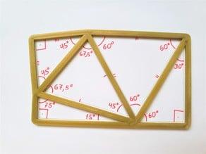 Triangle stencil