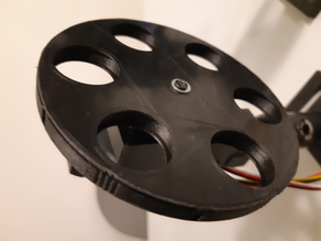 Haptic control optical filter wheel for a standard servo
