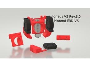 IGNEUS V2 - E3D V6/VOLCANO - ANET ET4 / ET4 PRO / ET4X / ET5