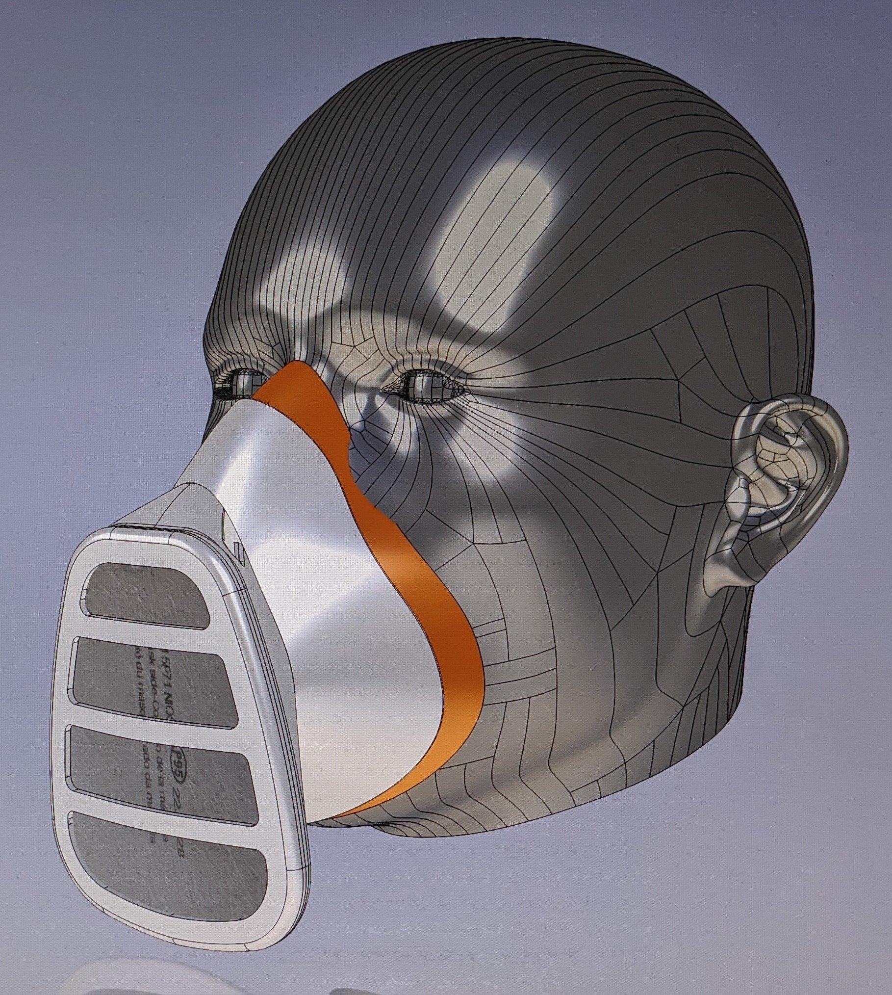 Filter Face Mask - n95 filter, shop mask