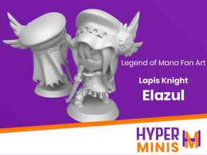 Elazul | Legend of Mana