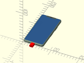 iPhone 11 Pro mockup mechanical dummy model
