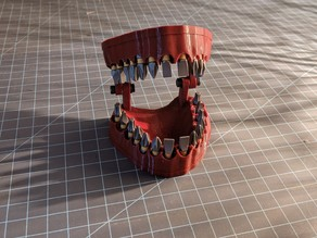 Denture Bit Holder With Magnets!