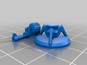 Easy to print Sentry Guns for Gaslands