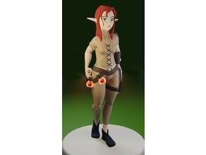 Druid Female Elf