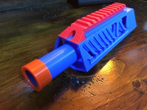 Delta X1 Nerf Barrel Extension