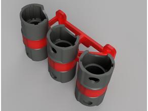 Dyson Wall bracket V8 V10 V11 Tool Holder for 6 tools