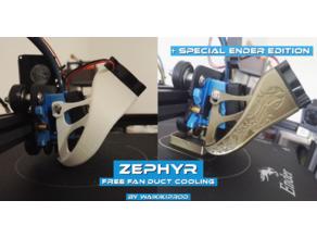 ZEPHYR V2 adaptative for Bullseye Fan Duct cooling