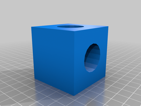 3 Hole Cube