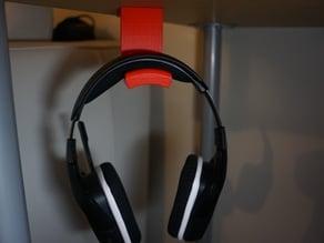 under desk headset holder