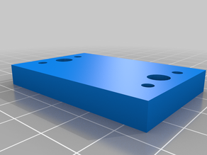 Laser Adapter Mount - 2 to 4 hole