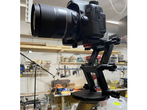 DSLR camera Stand with GoPro atatchment