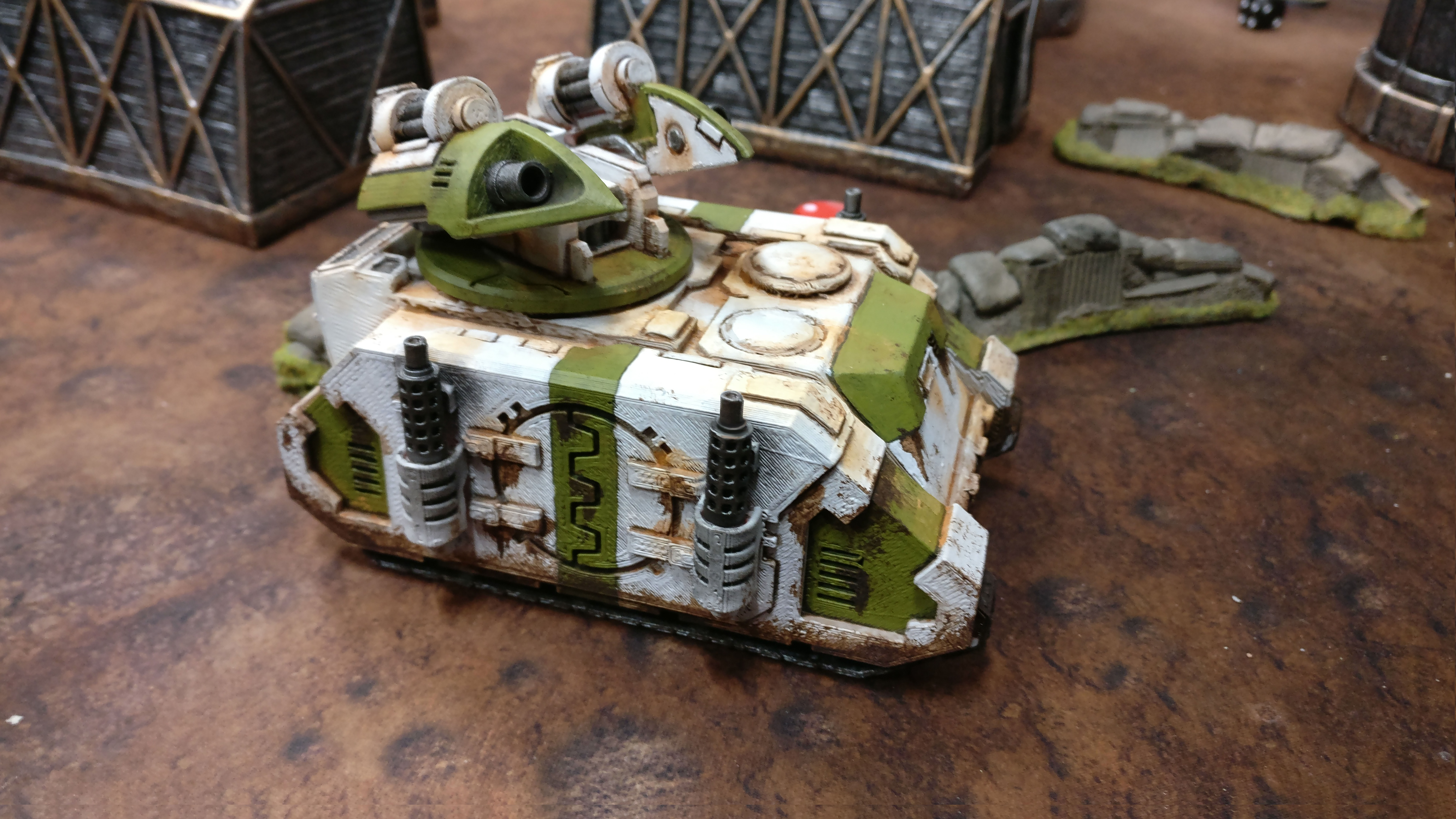 Space Troops Artillery Tank