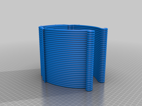 Face shield visor Prusa compatible and stackable