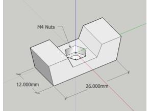 *Thumbscrews 4 mm