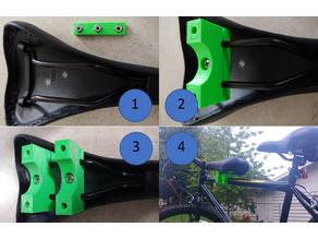 Customizable Copilot Bicycle Seat Adapter