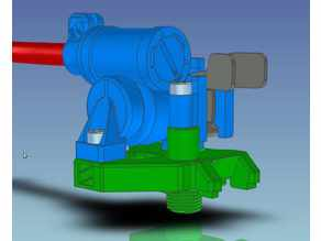 Flex mount for CR-10 type printheads