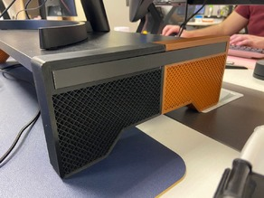 Monitor Stand Legs Remix for SMALLER PRINTERS